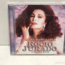 CDs de Música: CD ROCÍO JURADO 5 GRANDES EXITOS REVISTA HOLA EN HOMENAJE. Lote 280354503