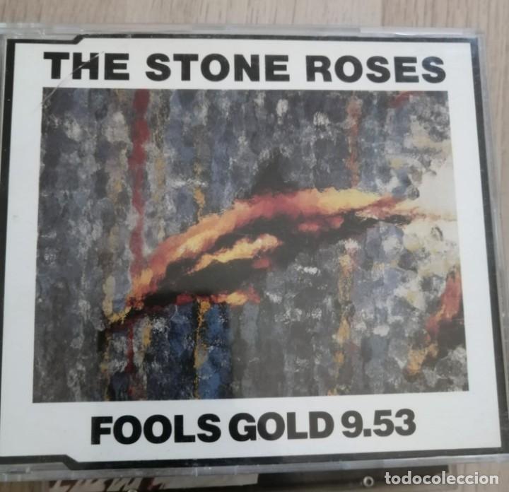 LOTE CD SINGLES - STONE ROSES - CAJAS SLIM - WATERFALL-ONE LOVE-SO YOUNG - ETC (Música - CD's Pop)