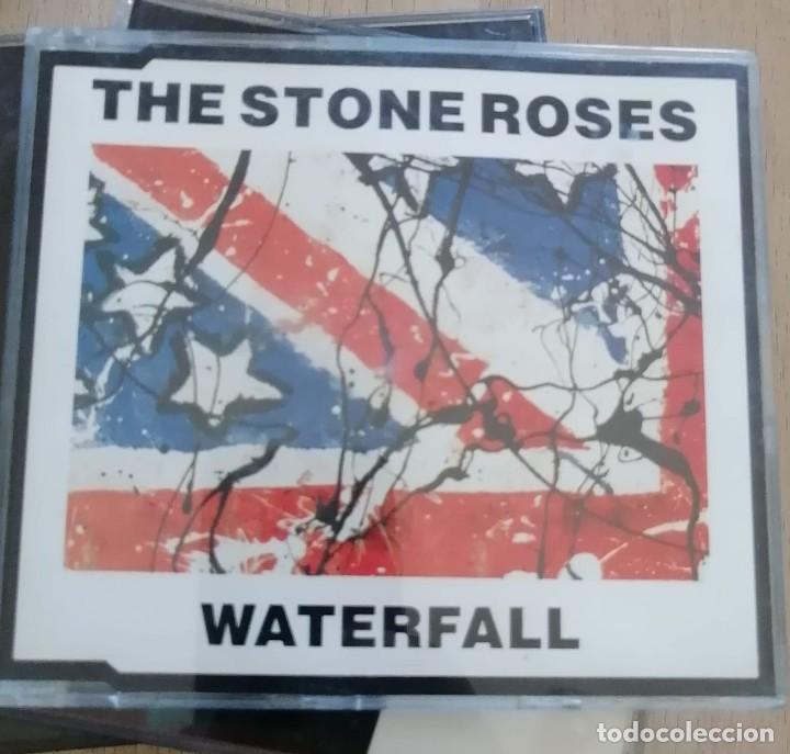 CDs de Música: LOTE CD SINGLES - STONE ROSES - CAJAS SLIM - WATERFALL-ONE LOVE-SO YOUNG - ETC - Foto 3 - 280373653