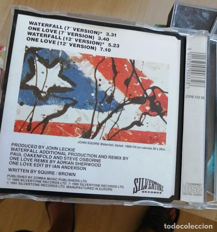 CDs de Música: LOTE CD SINGLES - STONE ROSES - CAJAS SLIM - WATERFALL-ONE LOVE-SO YOUNG - ETC - Foto 4 - 280373653