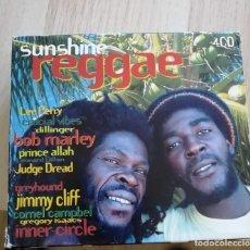 CDs de Música: SUNSHINE REGGAE - 4 CD. Lote 280373948