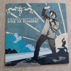 CDs de Música: FRANCO BATTIATO - VIDA EN DIAGONAL - CD PROMOCIONAL - 2001. Lote 280374258