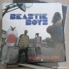 CDs de Música: BEASTIE BOYS CD MAXI TRIPLE TROUBLE 2 TRACKS 2004. Lote 280374873