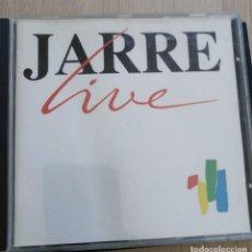 CDs de Música: JEAN MICHEL JARRE - LIVE - CD 1989. Lote 280375238