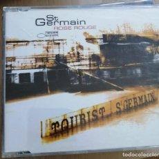 CDs de Música: ST. GERMAIN - ROSE ROUGE/MONTEGO BAY SPLEEN/ROSE ROUGE (CDSINGLE CAJA, EMI 2000). Lote 280375748