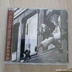 CDs de Música: FAITH NO MORE - ALBUM OF THE YEAR (1997). Lote 280375843