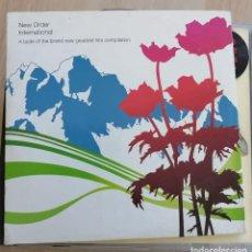 CDs de Música: NEW ORDER INTERNATIONAL - CD PROMO - 3 TEMAS - BLUE MNDAY -. Lote 280377083