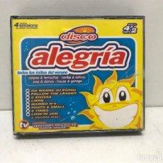 CDs de Música: 4 CD'S DISCO ALEGRIA. Lote 280381853