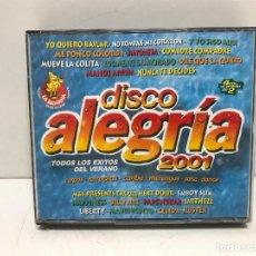 CDs de Música: 4 CD'S DISCO ALEGRIA 2001. Lote 280381968