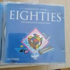 CDs de Música: CD - GREATEST EVER! - EIGHTIES - CD THREE - THE DEFINITIVE COLLECTION. Lote 280382233