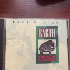 CDs de Música: PAUL WINTER-EARTH VOICES OF A PLANET-1990-EXCELENTE ESTADO. Lote 280430653