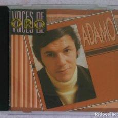 CDs de Música: ADAMO (VOCES DE ORO) CD 1988. Lote 280515838