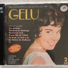 CDs de Música: GELU 1960 -1963 - DOBLE CD - RAMA LAMA. Lote 280557863