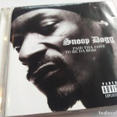 CD de Música: SNOOP DOG - PAID THA COST TO BE DA BO$$. Lote 280617728
