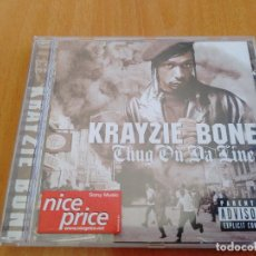 CDs de Música: UNICO EN TCL CD KRAYZIE BONE - THUG ON DA LINE RAP, HIP HOP USA. Lote 280765133