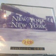 CDs de Música: NEW YORK NEW YORK - 2 CD / 24 TEMAS. Lote 280905218