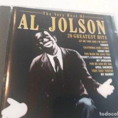 CDs de Música: AL JOLSON - 20 GREATEST HITS. Lote 280907083