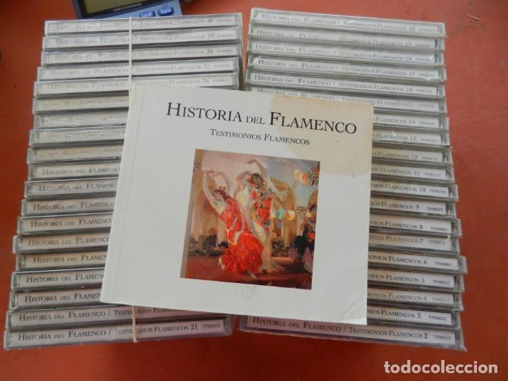 HISTORIA DEL FLAMENCO - TESTIMONIOS FLAMENCOS - 38 DVDS + LIBRO - PRECINTADOS. (Música - CD's Flamenco, Canción española y Cuplé)