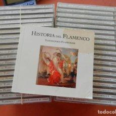 CDs de Música: HISTORIA DEL FLAMENCO - TESTIMONIOS FLAMENCOS - 38 DVDS + LIBRO - PRECINTADOS.. Lote 280936733