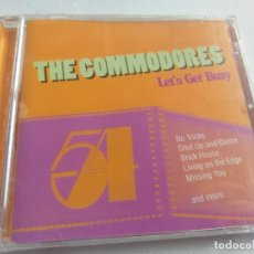 CDs de Música: THE COMMODORES - LET´S GET BUSY / 12 TEMAS / PRECINTADO. Lote 281048138