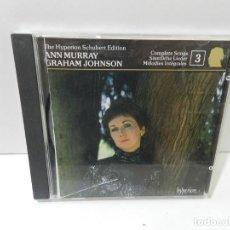 CD de Música: DISCO CD. ANN MURRAY, GRAHAM JOHNSON – THE HYPERION SCHUBERT EDITION. COMPACT DISC.. Lote 281788833