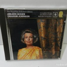 CD de Música: DISCO CD. ARLEEN AUGER – THE HYPERION SCHUBERT EDITION 9. COMPACT DISC.. Lote 281789543
