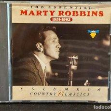 CDs de Música: THE ESSENTIAL MARTY ROBBINS 1951-1982 / CD - COLUMBIA-1991 / 23 TEMAS / IMPECABLE.. Lote 281801108