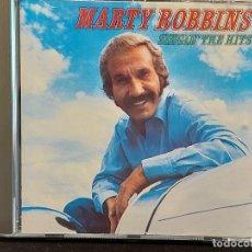 CDs de Música: MARTY ROBBINS / SINGIN' THE HITS / CD - CBS-1990 / 10 TEMAS / IMPECABLE.. Lote 281801528