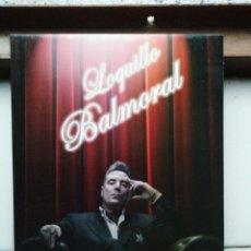 CDs de Música: LOQUILLO BALMORAL DOBLE CD, CD, SEGUNDA MANO PERO EN PERFECTO ESTADO. Lote 281825393
