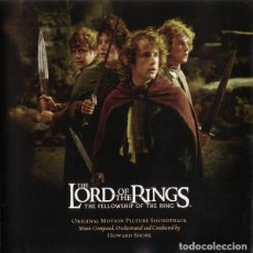 CDs de Música: THE LORD OF THE RINGS: THE FELLOWSHIP OF THE RING / HOWARD SHORE CD BSO. Lote 281835233