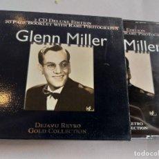 CDs de Música: GLENN MILLER - DEJAVU RETRO GOLD COLLECTION / 2 CDS. Lote 281964418