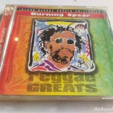 CDs de Música: BURNING SPEAR - ISLAND REGGAE GREATS COLLECTION. Lote 281964613