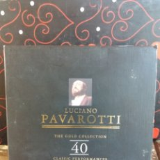 CDs de Música: LUCIANO PAVAROTTI THE GOLD COLLECTION. Lote 282005658