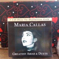 CDs de Música: MARÍA CALLAS DEJA VU DEFINITIVE GOLD. Lote 282006033