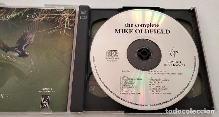 CDs de Música: CD DOBLE RECOPILATORIO DE MIKE OLDFIELD. THE COMPLETE. 1985. - Foto 3 - 282270308