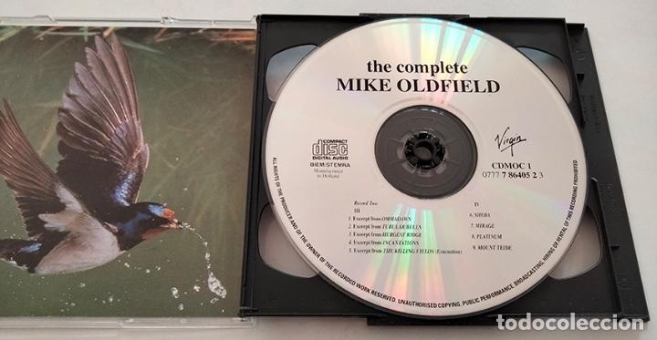 CDs de Música: CD DOBLE RECOPILATORIO DE MIKE OLDFIELD. THE COMPLETE. 1985. - Foto 4 - 282270308