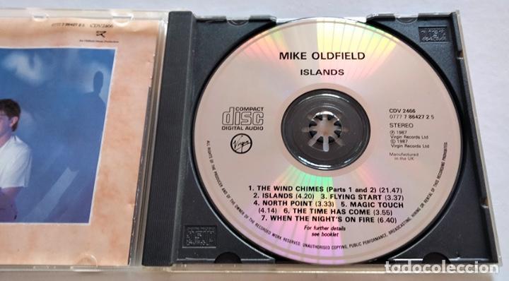 CDs de Música: CD DE MIKE OLDFIELD. ISLANDS. 1987. - Foto 3 - 282483653