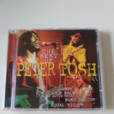 CDs de Música: PETER TOSH THE BEST OF ( 1996 DISKY ) MICK JAGGER ROLLING STONES. Lote 282492528