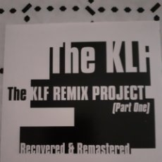 CDs de Música: THE KLF REMIX PROJECT RECOVERED A D REMASTERED 1 CD RARE. Lote 282944948