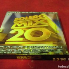 CDs de Musique: BOLERO MIX 20 - VARIOS ARTISTAS - SPAIN - BLANCO Y NEGRO - REF MXCD 1396 - LF -. Lote 282961823