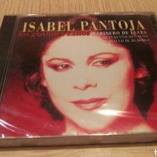 CD de Música: ISABEL PANTOJA - LOS GRANDES ÉXITOS - NUEVO SIN ABRIR. Lote 283097998