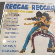 CDs de Música: REGGAE-REGGAE ES MUCHO MÁS / 2 CD. Lote 283128453