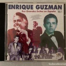 CDs de Música: ENRIQUE GUZMÁN - SUS GRANDES ÉXITOS EN ESPAÑA - RAMA LAMA. Lote 283226473