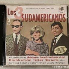 CDs de Música: LOS 3 SUDAMERICANOS - SUS PRIMEROS DISCOS EN ESPAÑA - DOBLE CD - RAMA LAMA. Lote 283226678