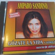 CDs de Música: AMPARO SANDINO - GÓZATE LA VIDA Y OTROS ÉXITOS. Lote 283249963