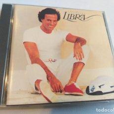 CDs de Música: JULIO IGLESIAS - LIBRA. Lote 283250243