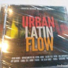 CDs de Música: URBAN LATIN FLOW - 2 CDS / PRECINTADO : REGGAETON-MERENGUE-MAMBO-ELECTRO TROPICAL. Lote 283250378