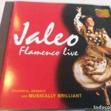 CDs de Música: JALEO - FLAMENCO LIVE. Lote 283250393
