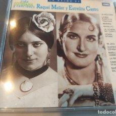 CDs de Música: RAQUEL MELLES Y ESTRELLITA DE CASTRO - 12 TEMAS. Lote 283250568