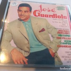 CDs de Música: JOSÉ GUARDIOLA - EP´S EN DISCOS LA VOZ DE SU AMO (1960-61) 2 CDS / RAMA LAMA MUSIC. Lote 283250628